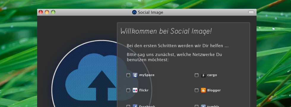 Desktop-Application to manage pictures and albums on multiple social networks simultaneously.